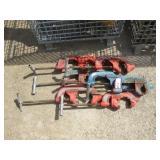 (7) Ridgid Pipe Cutters