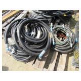 Assorted Air Hose and Hydraulic Hose