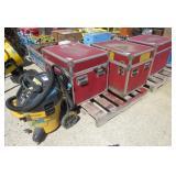 (3) Storage Crates