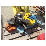 (9) Assorted Beam Clamps