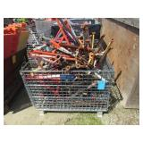 Basket of Assorted Pipe Stands
