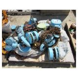 (8) Assorted Chain Hoists