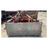 Crate of Assorted Pipe Roller Stands