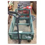 Yard Cart and Assorted Hilti Supplies