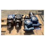 (4) UT Pneumatic Spline Drive Wrenches