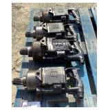 (4) Ingersoll-Rand Pneumatic Spline Drive Wrenches