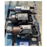 (3) Ingersoll-Rand Pneumatic Spline Drive Wrenches