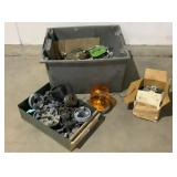 Assorted Hardware and Motor Couplings