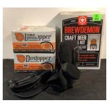 Brew Station Dust Stoppers Medical Boot