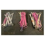 (30) Assorted Combo Wrenches