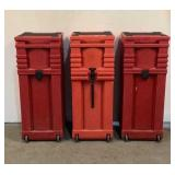 (3) Normadic Trade Show Cases & Display