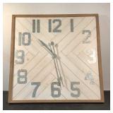 "Creative Co-op 36"" Wall Clock"