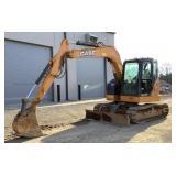 2015 Case Excavator CX75C SR