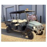 2017 ClubCar 4 Seater UTV 4x4 Carryall 1700 Diesel