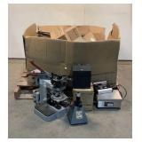 MicroScope, Steel Boxes,  TV Remotes