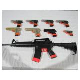 (qty - 9) Assorted Airsoft Guns-