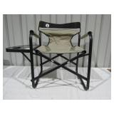 Coleman Folding Chair w/ Side Table-
