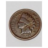 Indian Head Cent- 1897