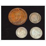 Coins- South Africa Georgivs V Rex Imperator
