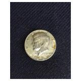Kennedy Half Dollar-1966