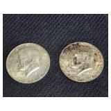 Kennedy Half Dollars-1969