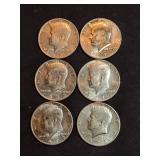 Kennedy Half Dollars- 1973