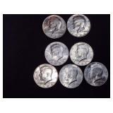 Kennedy Half Dollars-1983 & 1984