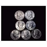 Kennedy Half Dollars-1985- 1989