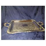 WM Rogers Serving Tray