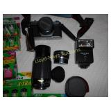 Pentax K1000 35mm Film Camera Kit