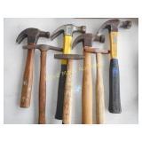 7pc Framing & Tack Hammers