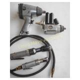 4pc Air Tools - Impact / Ratchets / Rotary