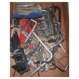 Large Lot - Allen Wrenches & Hex Keys