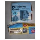2pc Submersible Pumps - NOS