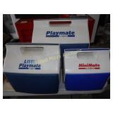 3pc Set Igloo Playmate Coolers