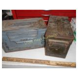 2pc US Military Steel Ammo Cans