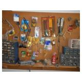 Hardware - Entire Contents of Wall & Shelf