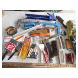 Large Lot - Painting Supplies / Caulk Guns