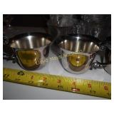12pc Set - Vintage Silver Plate Punch Cups