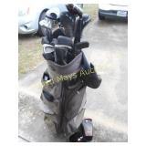 Golf Club Set - Wilson Deep Red / Castle Bay