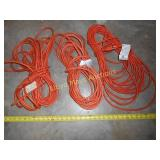 3pc - 50ft Extension Cords