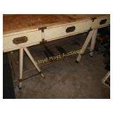 Portable Shop Made Work Table / Bench