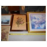 4pc Framed Art Prints