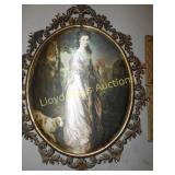 3pc Victorian Style Wall Art