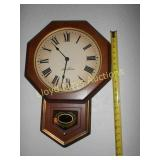 Seth Thomas Regulator Style Wall Clock