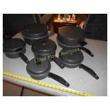 6pc Set Cast Aluminum Non Stick Cook Set