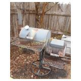 Texas Pit Crafters Steel BBQ Smoker / Grill