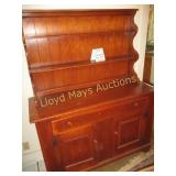 Cushman Colonial Maple Dining Hutch Cabinet