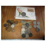 Vintage US Coin - Buffalo Nickel / Wheat Penny