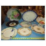 8pc Vintage to Antique Porcelain Plates & Bowls